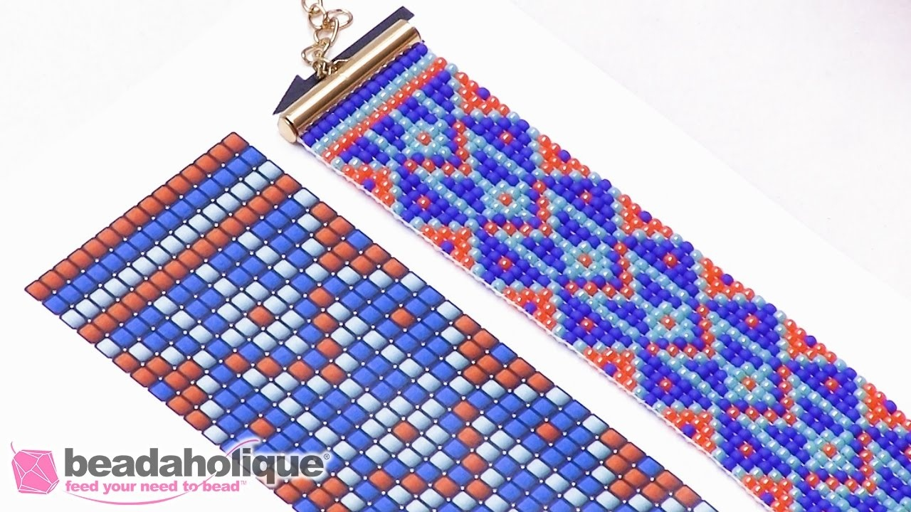How To Read A Bead Loom Pattern - Youtube - Free Printable Bead Loom Patterns