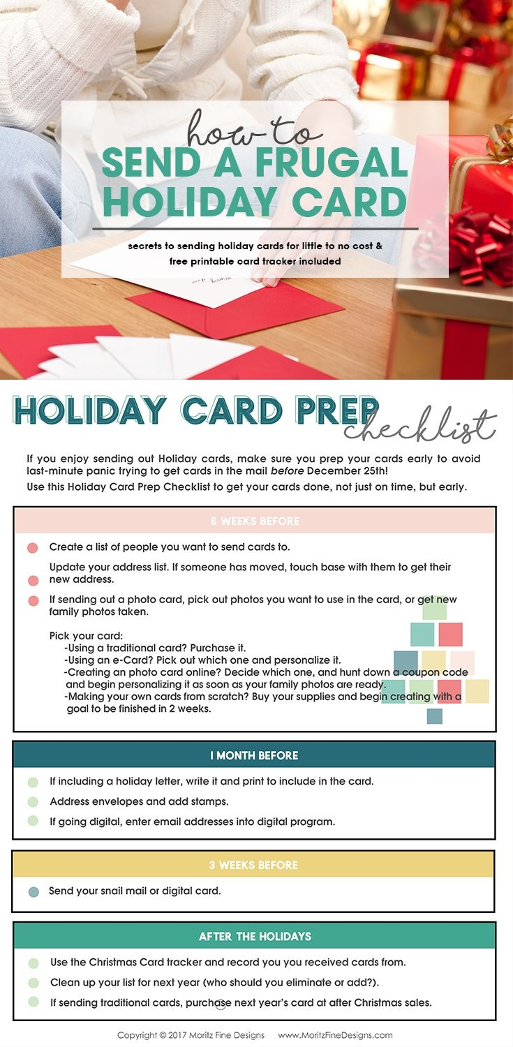 How To Send A Frugal Holiday Card   Christmas   Holiday Cards - Make A Holiday Card For Free Printable