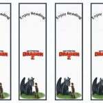 How To Train Your Dragon Bookmarks | Birthday Printable   Free Printable Dragon Bookmarks