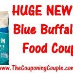 Huge Blue Buffalo Dog Food Printable Coupon ~ $5.00/1 Coupon!   Free Printable Dog Food Coupons
