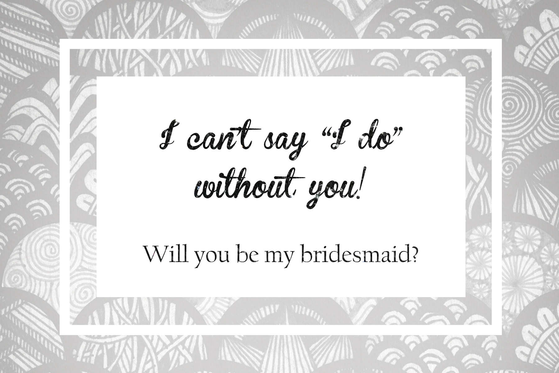 I Cant Say I Do Without You Free Printable (87+ Images In Collection - I Can T Say I Do Without You Free Printable