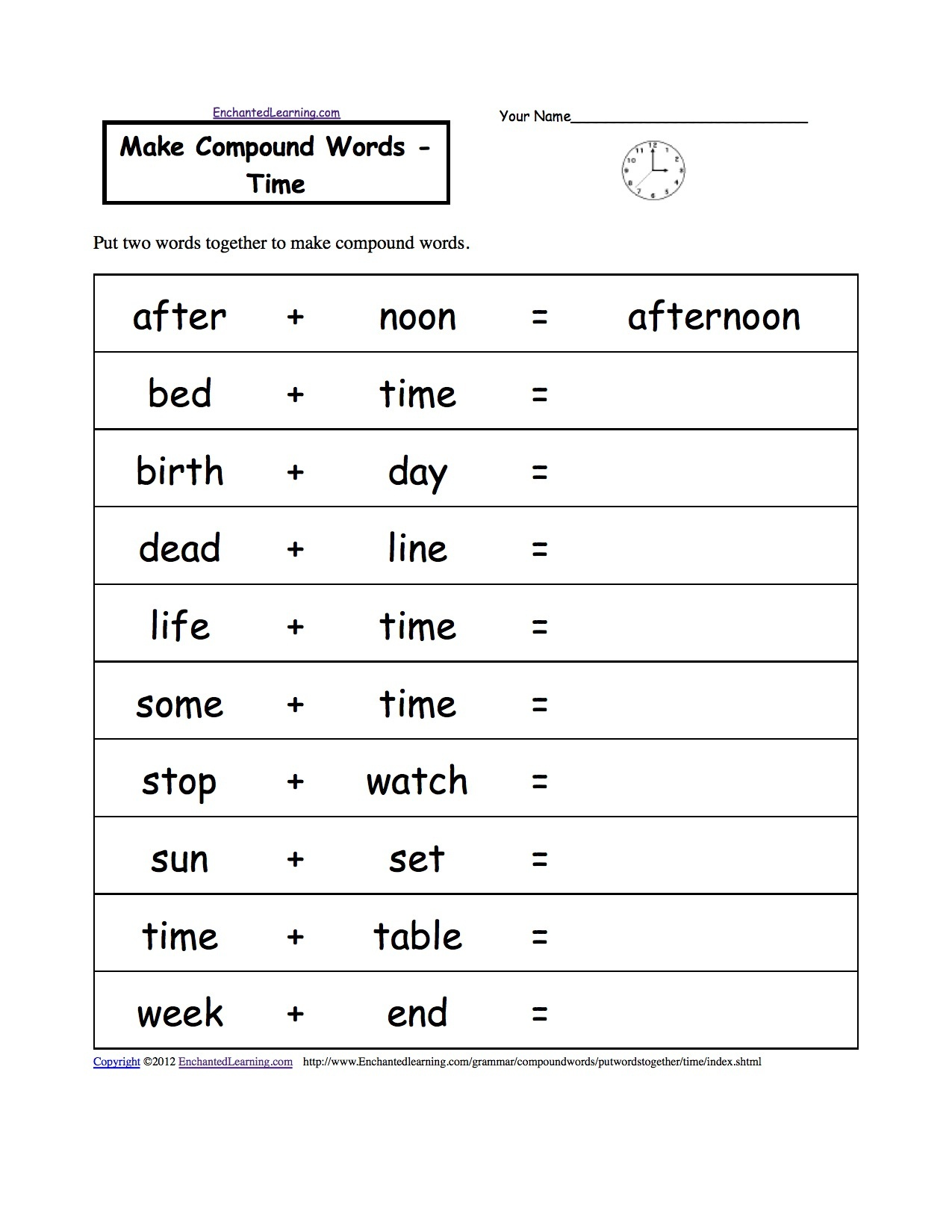 Free Printable Grammar Worksheets For 2Nd Grade | Free ...