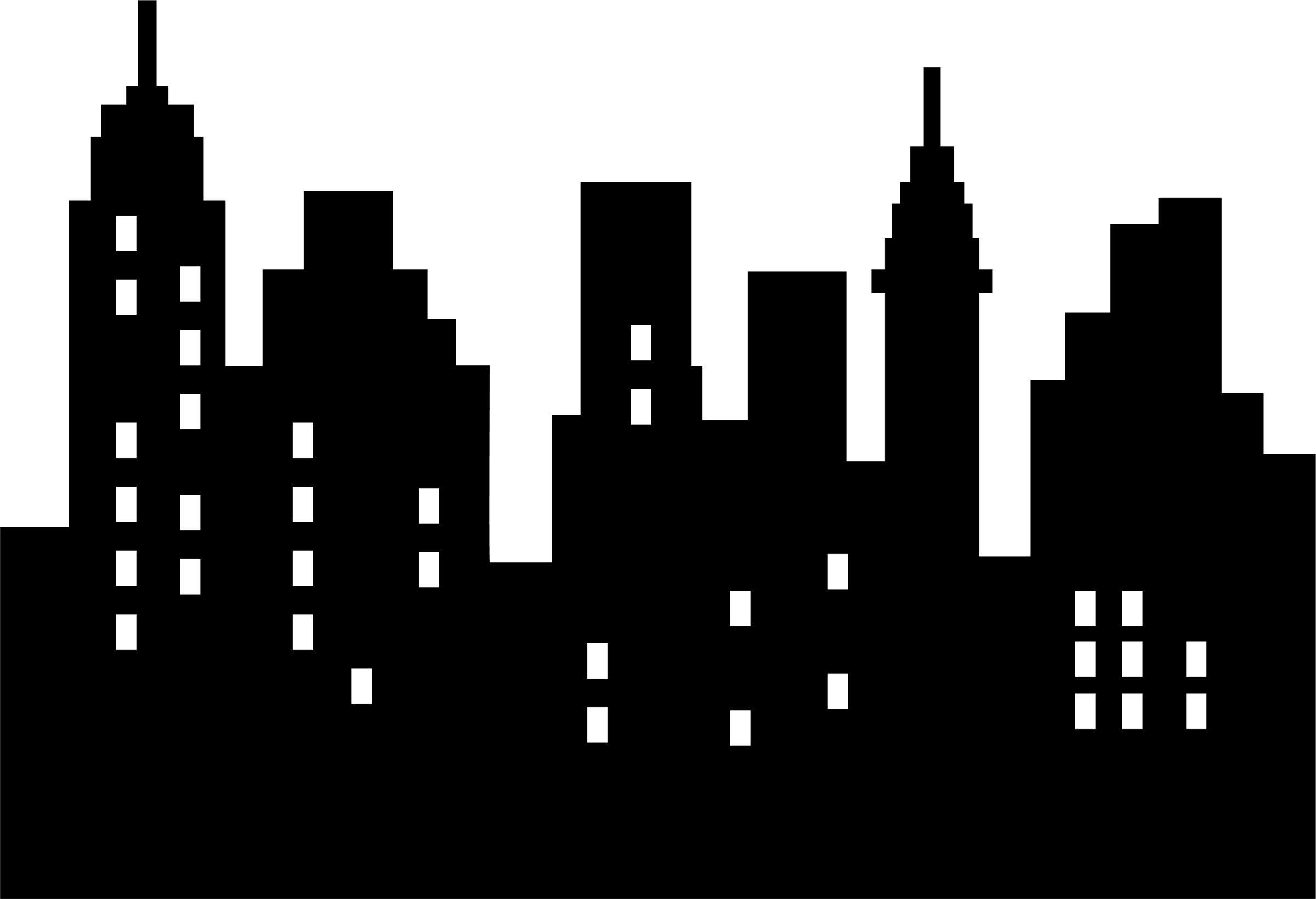 Image Result For Batman Building Template | Emmett | Skyline - Free Printable Superhero Skyline