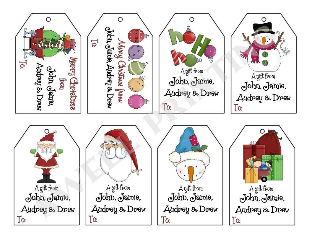 Image Result For Christmas Gift Tags Free Printable   Diy Christmas - Free Printable Gift Tags Personalized