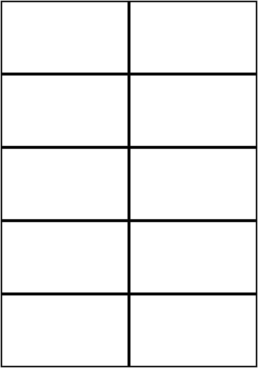 Image Result For Flashcards Template Word   Worksheets   Free - Free Online Business Card Templates Printable