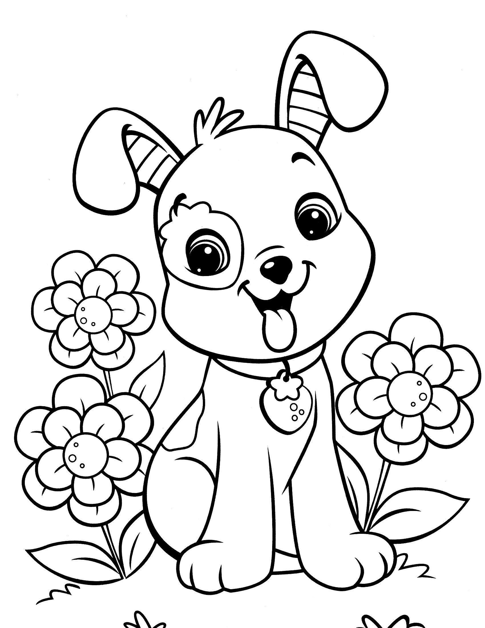 Image Result For Free Dog Coloring Pages | Colouring Pages | Dog - Colouring Pages Dogs Free Printable