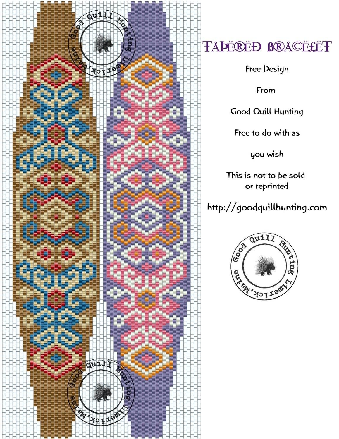 Image Result For Free Printable Seed Bead Patterns | Beadwitched - Free Printable Bead Loom Patterns