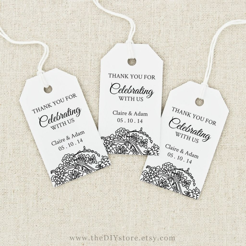 Image Result For Free Printable Wedding Favor Tags Template - Free Printable Wedding Favor Tags