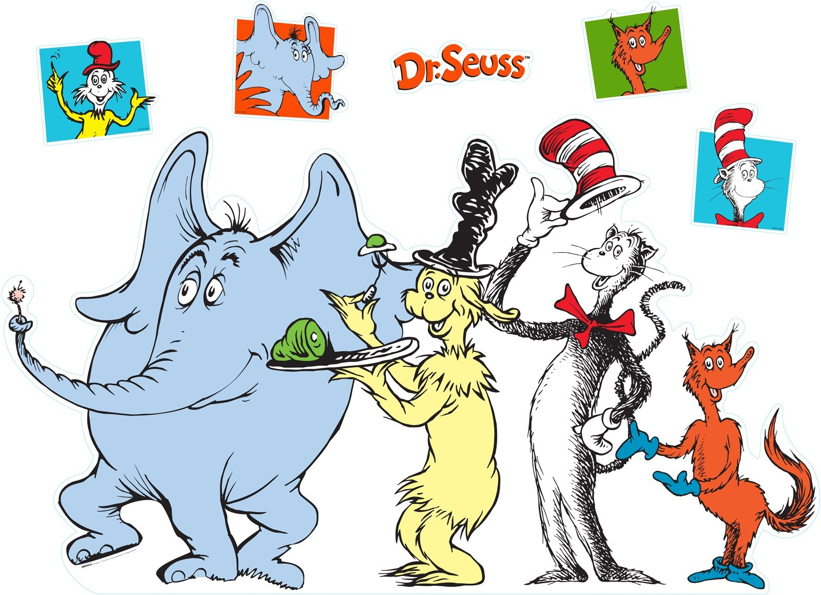 Images Of Dr Seuss Characters   Free Download Best Images Of Dr - Free Printable Dr Seuss Characters