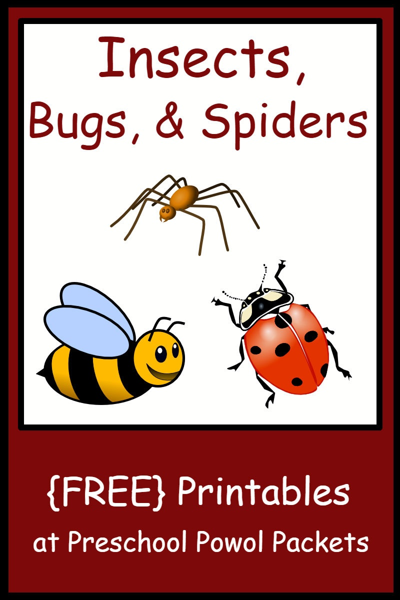 Insect, Bug, & Spider Themed {Free} Preschool Printables | Preschool - Free Printable Worm Worksheets