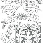 Inspirational Free Printable Leather Tooling Patterns  | Leather   Free Printable Oak Leaf Patterns