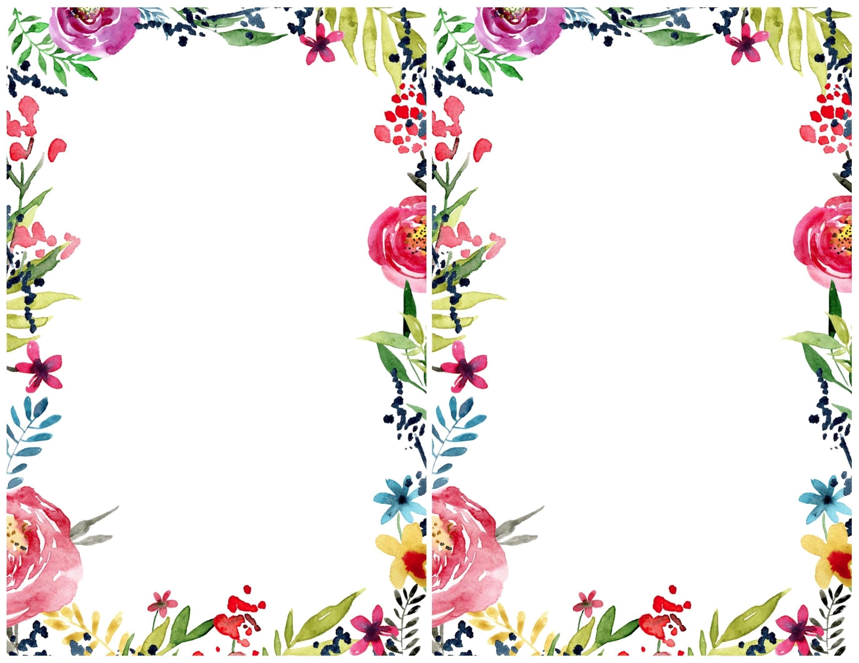 Invitation Templates Free Best Floral Borders Invitations Free - Free Printable Borders