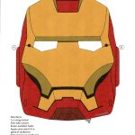 Iron Man Mask | Print Ironman Mask | Kiddos | Iron Man, Superhero   Free Printable Ironman Mask