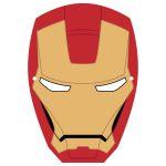Ironman Mask Template | Free Printable Papercraft Templates   Free Printable Ironman Mask