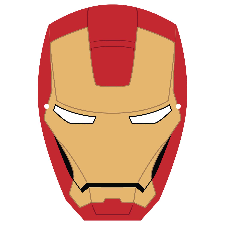 Ironman Mask Template | Free Printable Papercraft Templates - Free Printable Ironman Mask