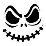 Jack Skellington Pumpkin   Cricut Cutter Ideas   Halloween Pumpkin   Free Printable Pumpkin Carving Stencils