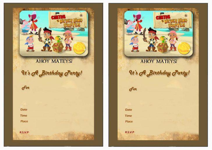 Free Printable Jake And The Neverland Pirates Cupcake Toppers