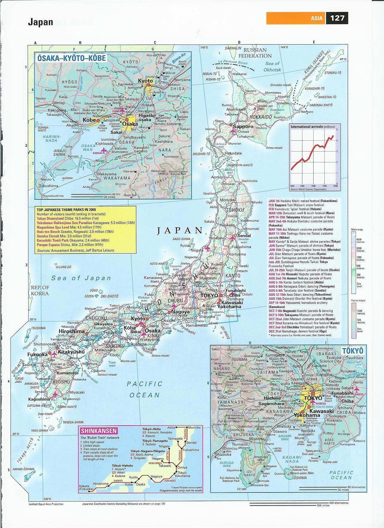 Japan Maps | Printable Maps Of Japan For Download - Free Printable Map Of Japan