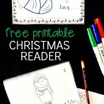 Jesus Is Born   Printable Christmas Reader | Kinderland   Free Printable Christmas Books For Kindergarten