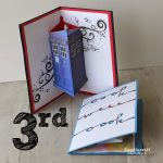 Jon Pertwee Pop Up Cards  3Rd Day Of Doctor Who! | Doodlecraft   Free Printable Dr Who Birthday Card