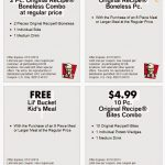 Kfc Canada Printable Coupons November 2018 / Wcco Dining Out Deals   Free Printable Las Vegas Coupons 2014