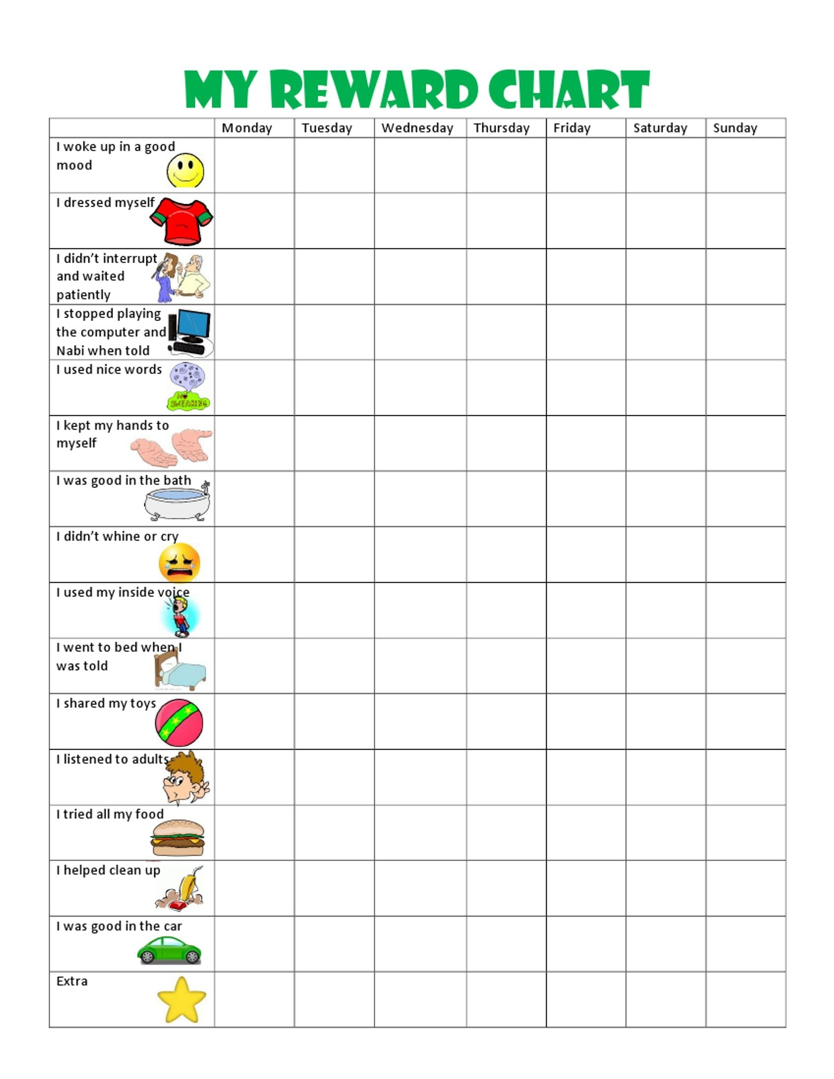 Kids Behavior Chart-This Behavior Chart Changed Our Family And - Free Printable Behavior Charts