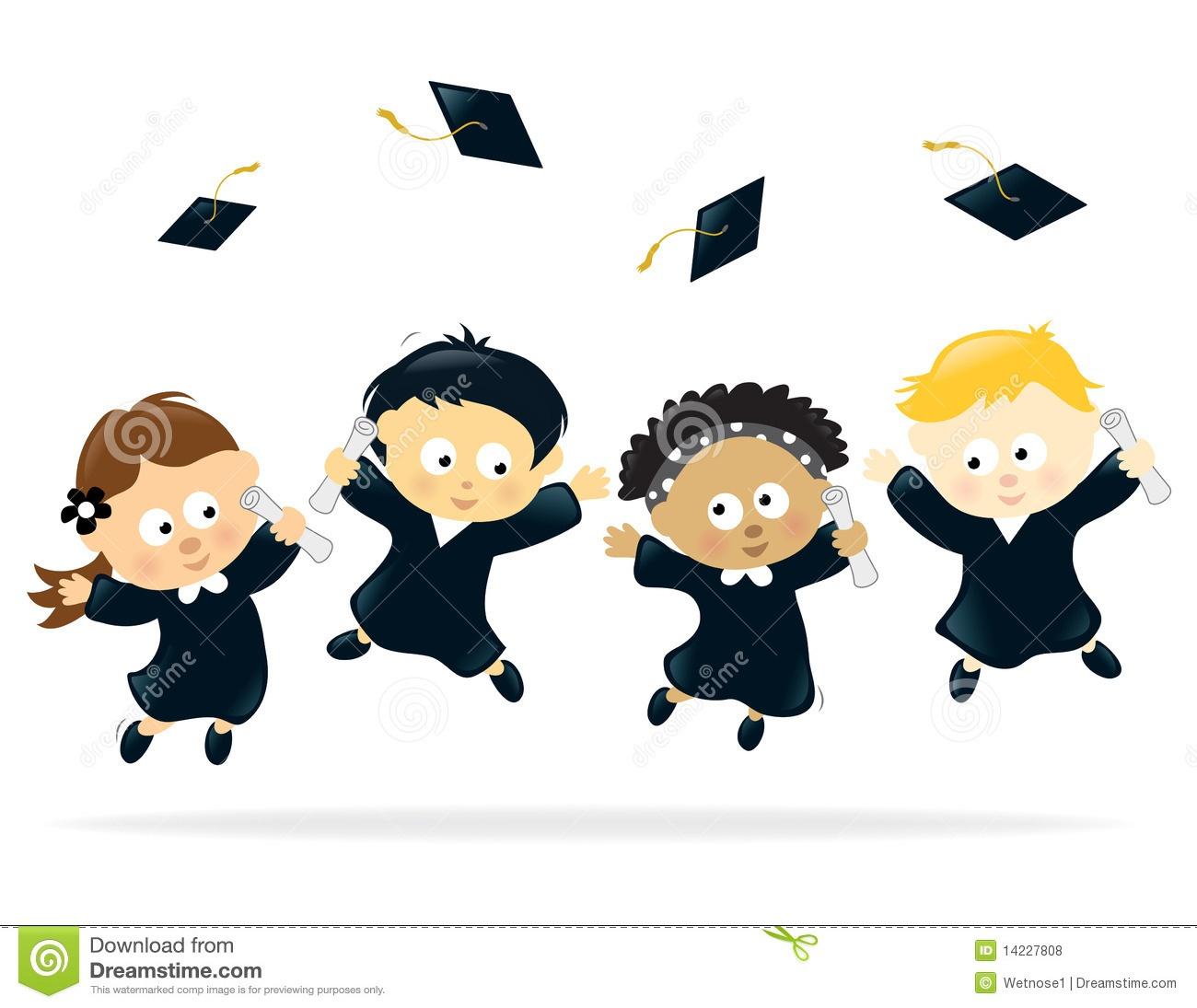 Kids Graduation Clipart   Free Download Best Kids Graduation Clipart - Free Printable Kindergarten Graduation Clipart