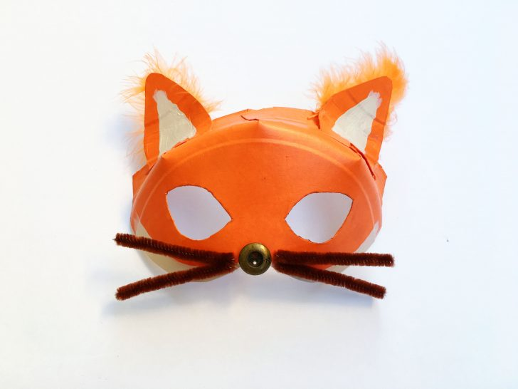 Free Printable Fox Mask Template