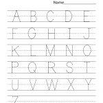 Kindergarten Worksheets Pdf Free Download Handwriting | Learning   Free Printable Worksheets Handwriting Practice