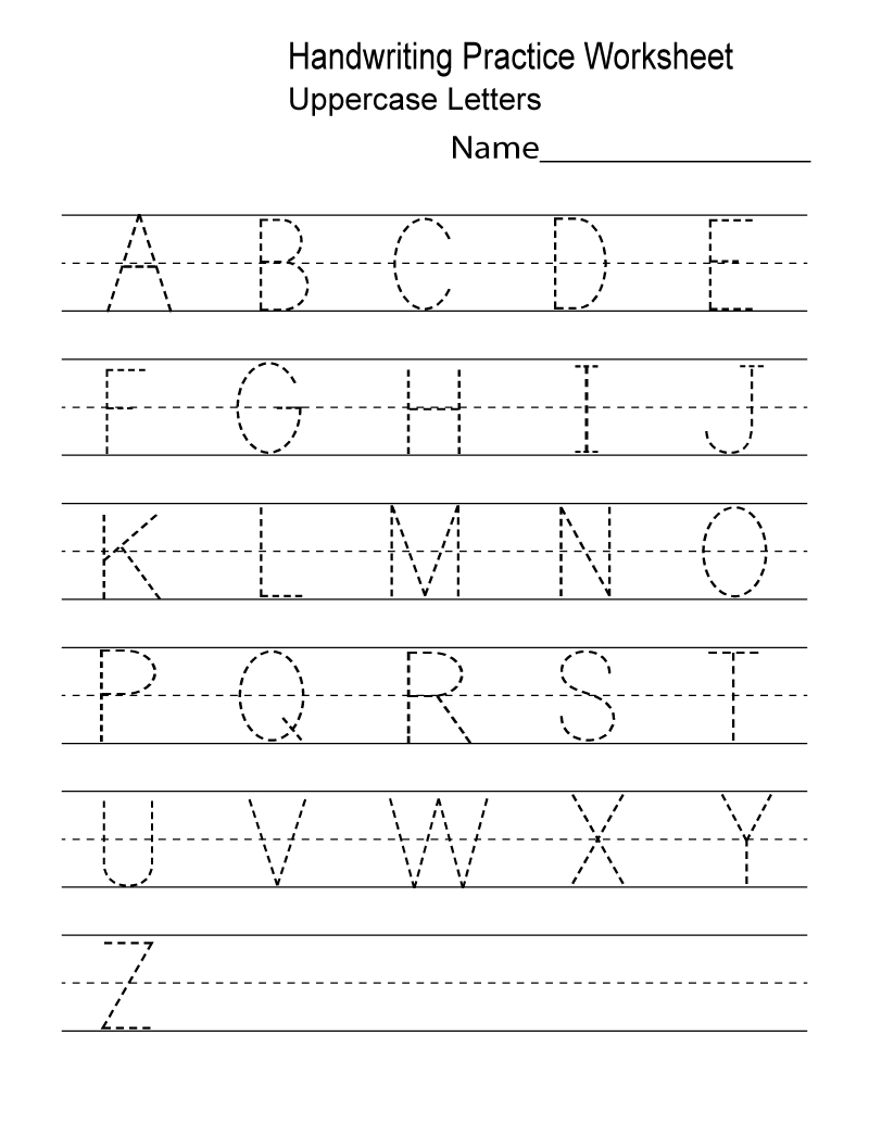 Kindergarten Worksheets Pdf Free Download Handwriting | Learning - Free Printable Worksheets Handwriting Practice