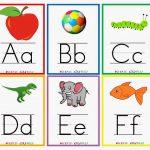 Kindergarten Worksheets: Printable Worksheets   Alphabet Flash Cards   Free Printable Alphabet Flash Cards