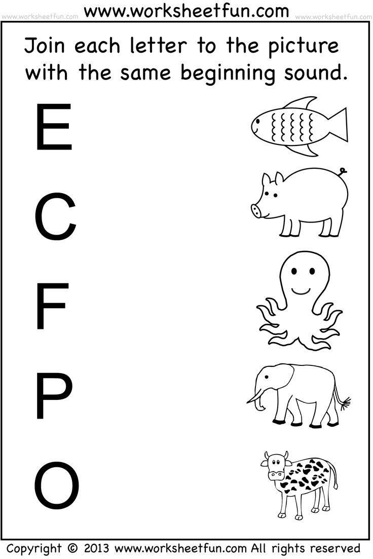 Kindergarten: Write The Missing Letters Of Alphabet Worksheets Fun - Free Printable Activities For Preschoolers