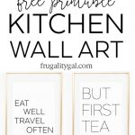 Kitchen Gallery Wall Printables | Free Printable Wall Art   Free Printable Decor