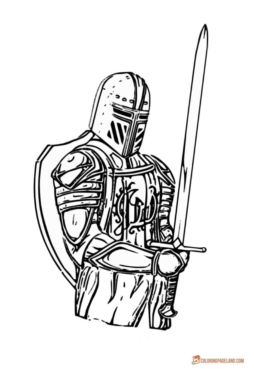 Knights Coloring Pictures - Download And Print Out For Free | Knight - Free Printable Pictures Of Knights