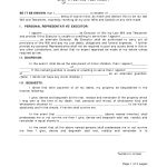 Last Will And Testament Template | Best Template Collection   Last   Free Printable Last Will And Testament Forms