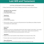 Last Will & Testament Form   Free Last Will (Us)   Lawdepot   Free Printable Living Will Forms Washington State