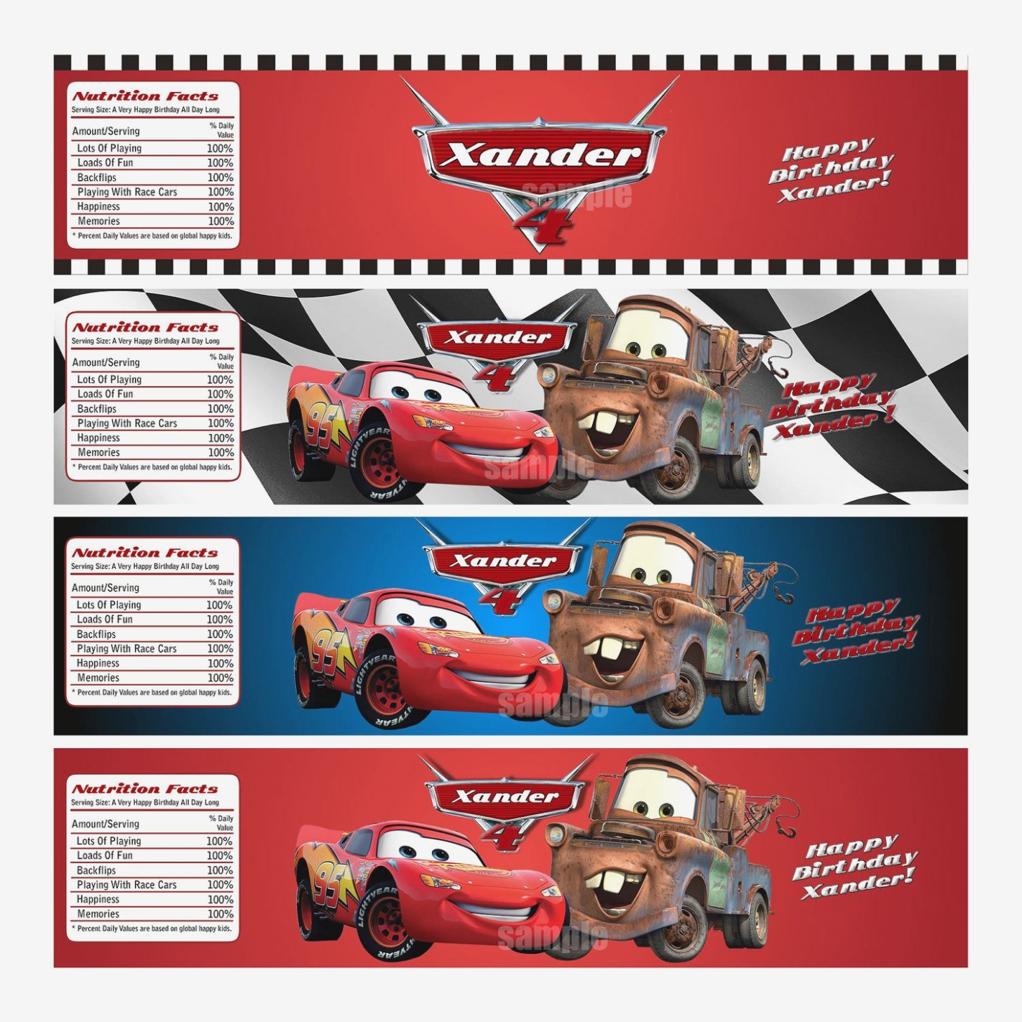 Learn All About Cars Water   Label Maker Ideas Information - Free Printable Disney Cars Water Bottle Labels