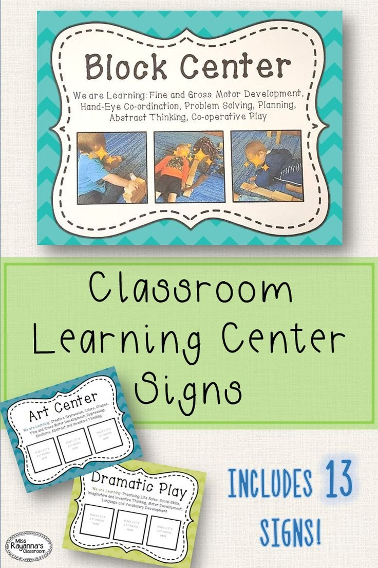 Learning Center Signs | Taisha Favorite | Preschool Center Signs - Free Printable Learning Center Signs