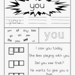 Learning Through Mom Sight Word Worksheets Free Printables   Free Printable Sight Word Worksheets