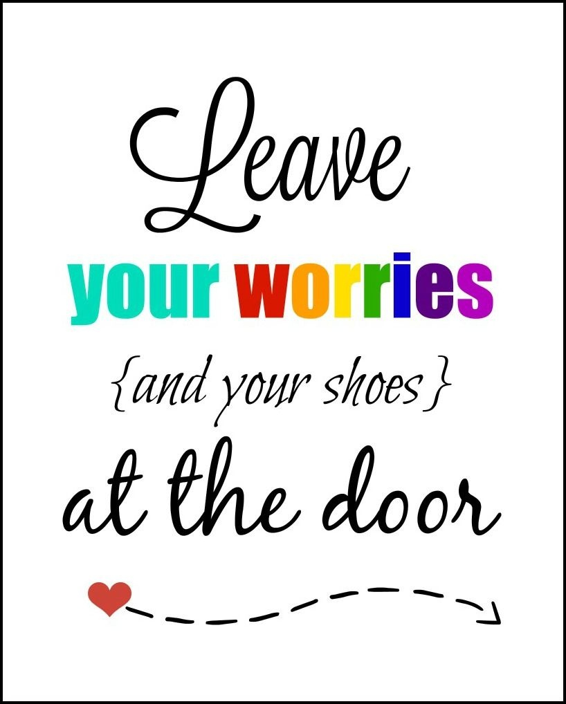 Leave Your Shoes At The Door Printable   Free Printable Ideas - Free Printable Remove Your Shoes Sign