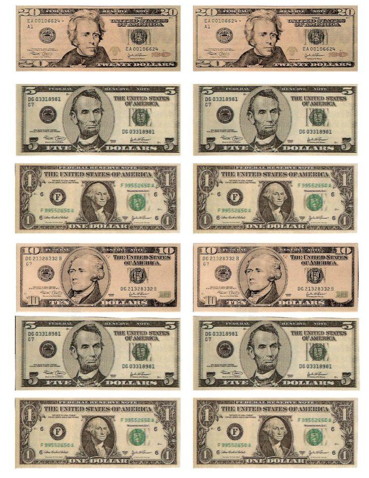 Free Printable Money