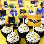 Lego Batman Cupcakes With Free Printable Toppers   Free Printable Lego Batman