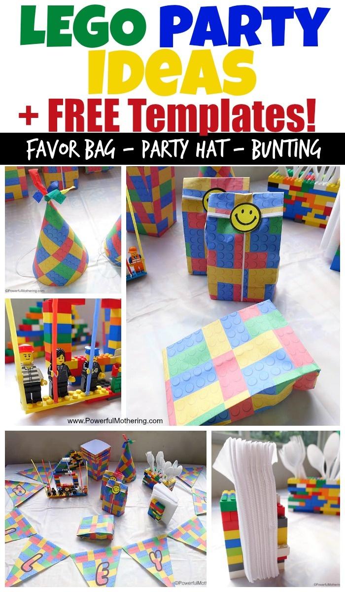 Lego Birthday Party Ideas And Free Lego Templates - Lego Party Invitations Printable Free