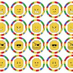 Lego Cupcake Toppers Printable   Paper Trail Design   Free Printable Lego Cupcake Toppers