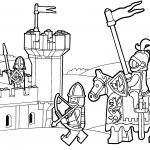 Lego Duplo Knights Coloring Page For Kids Printable Free Lego   Free Printable Pictures Of Knights