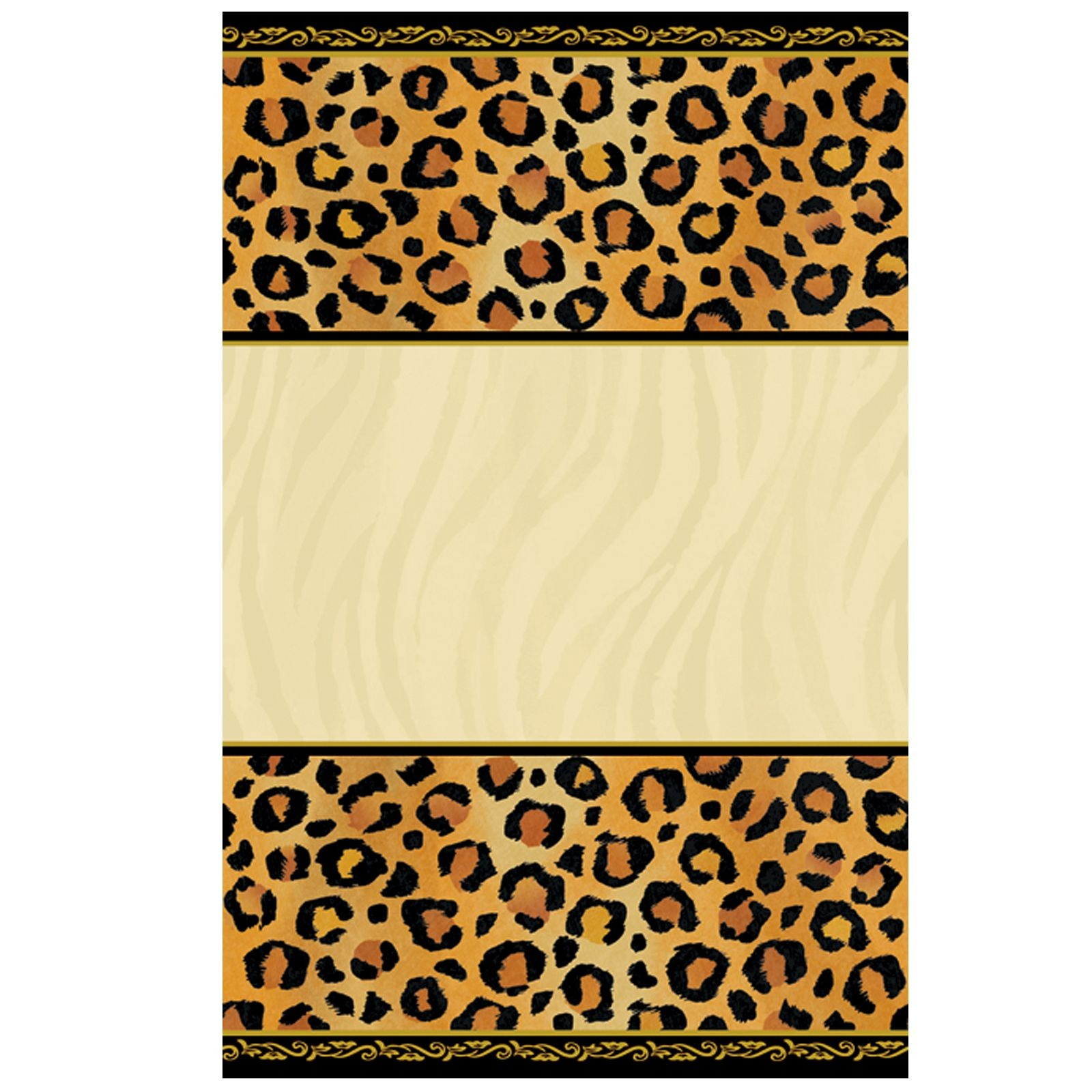 Leopard Print Invitations Printable Free Cakepins | Printables - Free Printable Cheetah Birthday Invitations