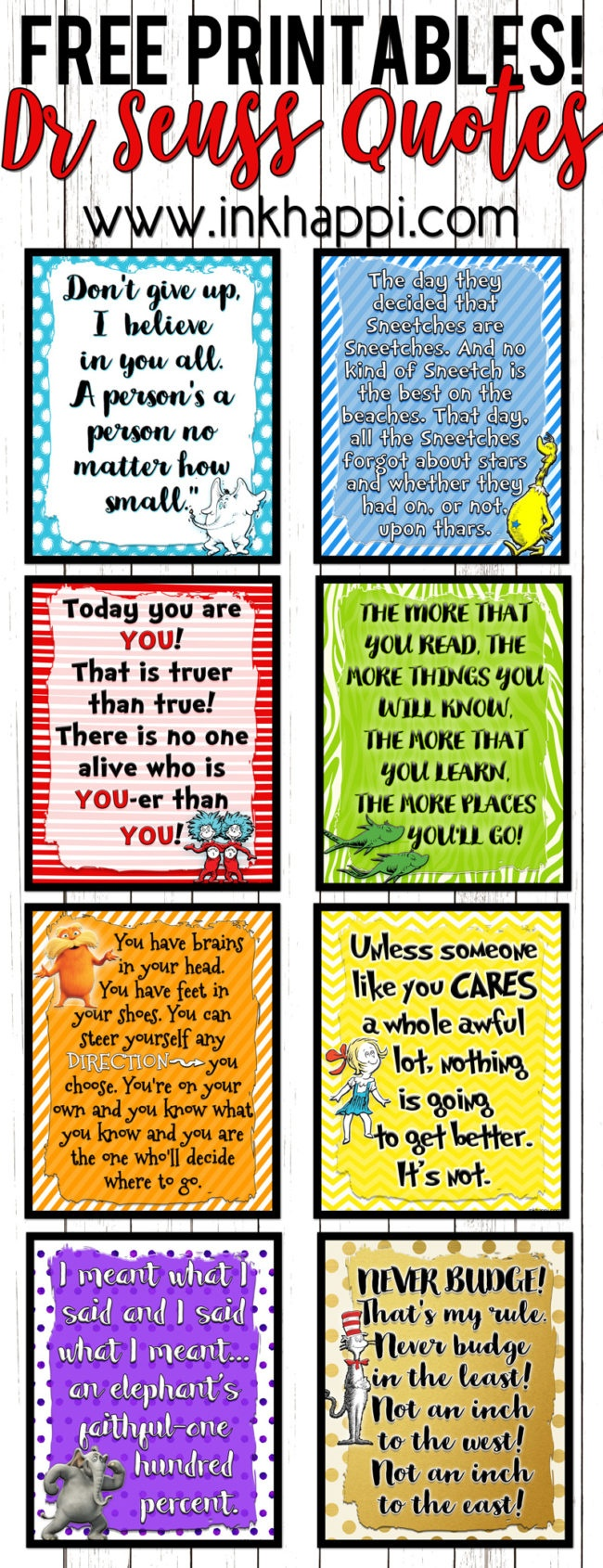 Lets Celebrate A Birthday With These Dr Seuss Printables! - Inkhappi - Free Printable Dr Seuss Quotes