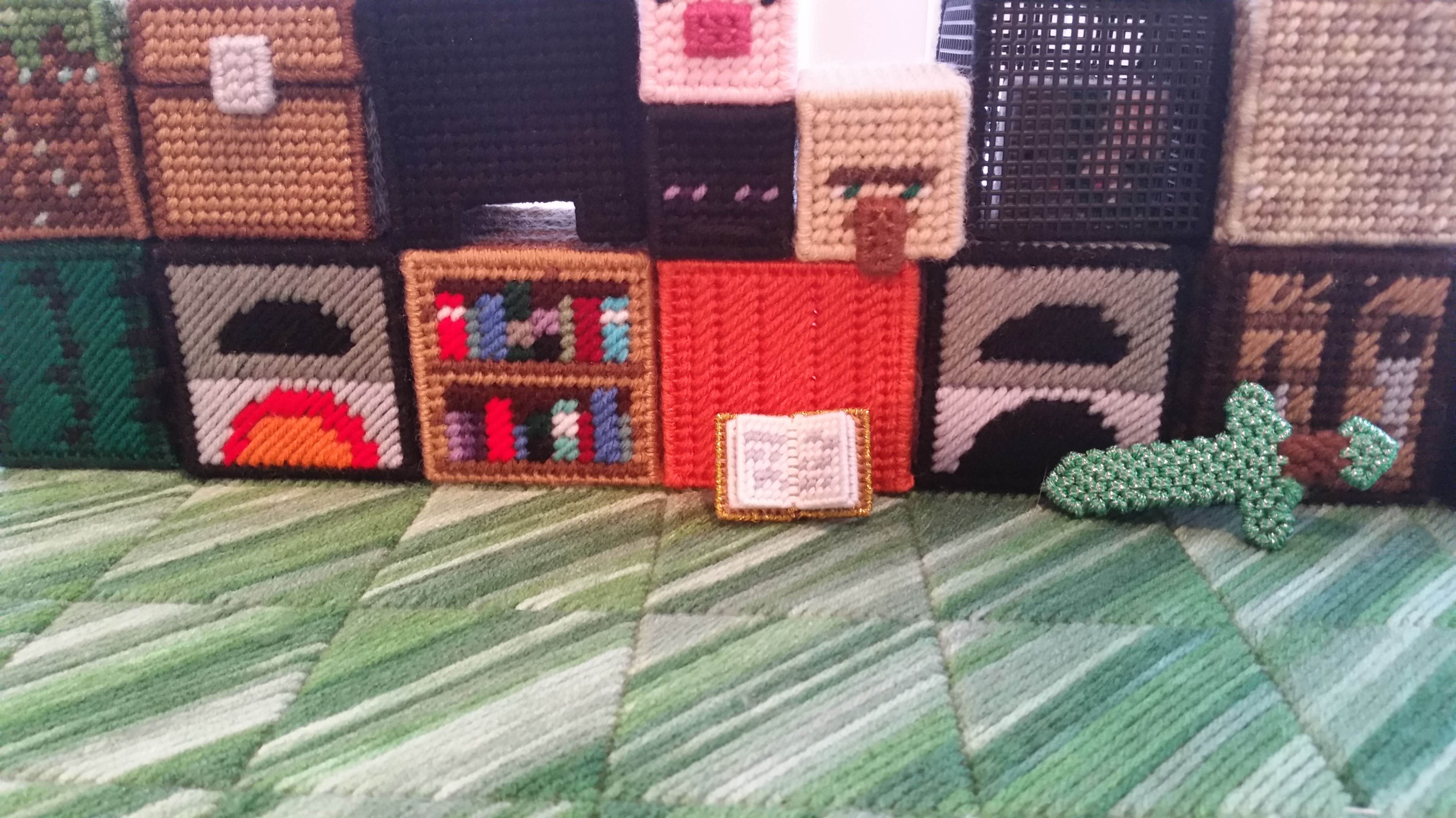 Let's Get Started On Free Minecraft Plastic Canvas Patterns! Here Is - Printable Plastic Canvas Patterns Free Online