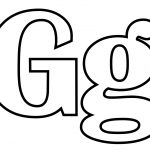 Letter G Coloring Page | Free Printable Coloring Pages   Coloring Home   Free Printable Letter G Coloring Pages
