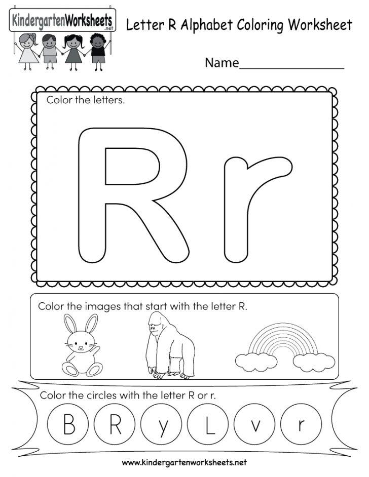 Free Printable Preschool Worksheets For The Letter R